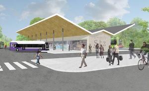 El PSE propone convertir la polémica escombrera de Santurtzi en una estación de autobuses