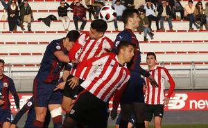 El Bilbao Athletic, a sellar la quinta plaza en Ellakuri