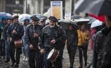 Lekeitio acoge el Ibilaldia más lluvioso