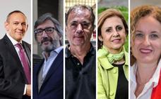 Los candidatos a la Diputación de Álava debaten este martes en EL CORREO