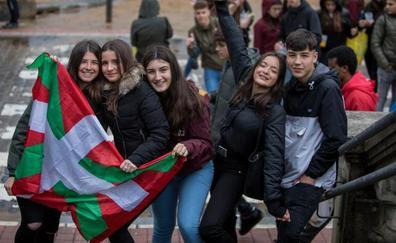 El Ibilaldia resiste el chaparrón en Lekeitio