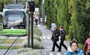 El Gobierno vasco plantea el tranvía a Zabalgana por 97 millones y condicionado al soterramiento
