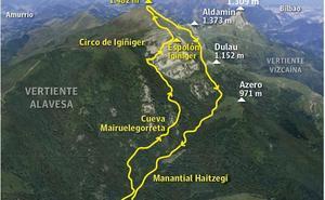 La senda al Gorbea de Juanito Oiarzabal