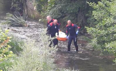 Localizan el cuerpo sin vida de un hombre en el río Herrerías a su paso por Gordexola
