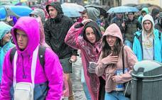 El mal tiempo deja pérdidas para el Ibilaldia