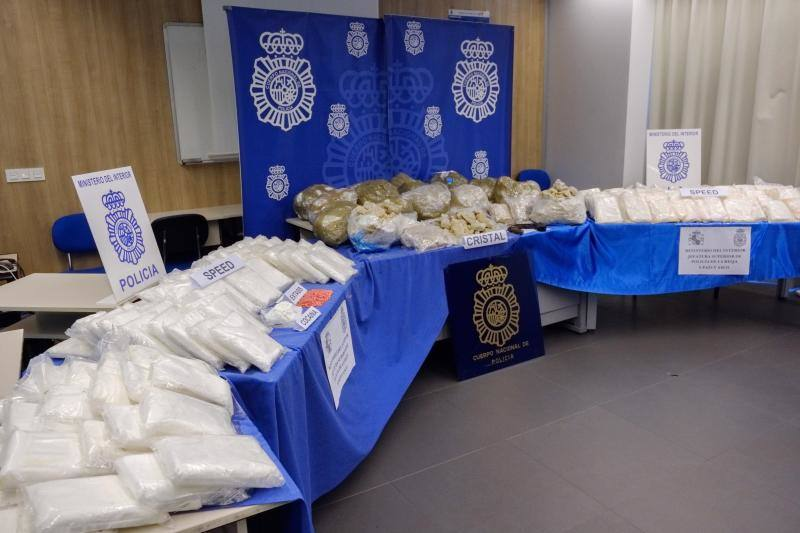 Desmantelan una potente red de tráfico de drogas cuyo líder vivía entre Bilbao y Castro