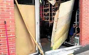 Tres comercios de Bizkaia sufren alunizajes en apenas dos horas