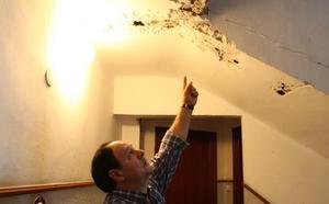 Licitan en 1,5 millones las obras de las casas de Santurtzi afectadas por las grietas del metro