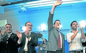 El PP vasco recurre a Rajoy en la recta final de campaña para reforzar su perfil más moderado
