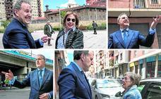 Por Rekalde con el hijo de La Catalana