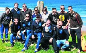 Brazadas solidarias en Getxo