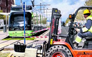 Zabalgana ve con «incertidumbre» el proyecto para la llegada del tranvía