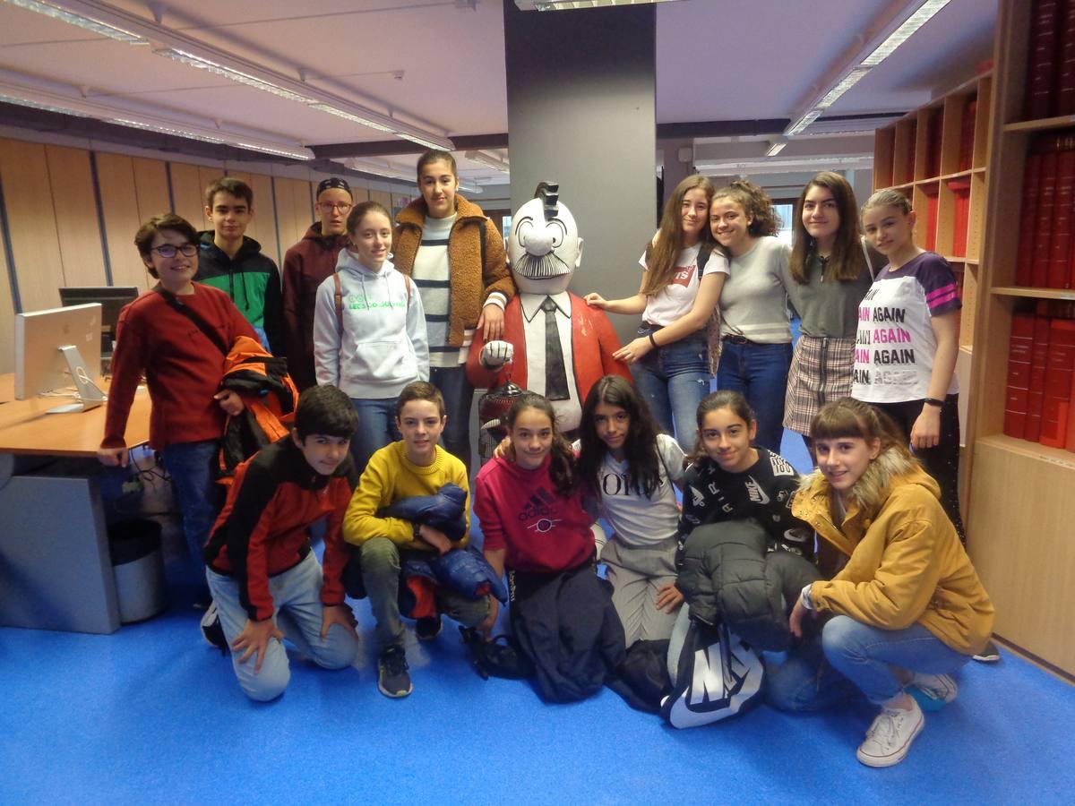 Visita centro escolar San Prudencio (Vitoria-Gasteiz) - 10 de mayo de 2019