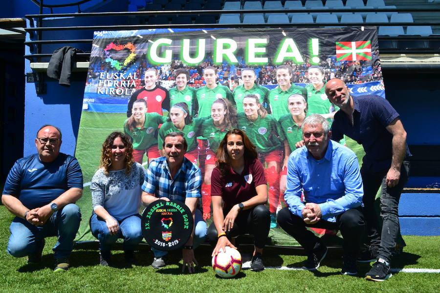 Athletic y Eibar lucharán en Galdakao por estar en la final de la Copa Euskal Herria