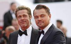 Brad Pitt y Leonardo DiCaprio revolucionan la alfombra roja de Cannes