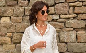 Una princesa, una 'influencer' getxotarra y una forma de interpretar la misma camisa blanca
