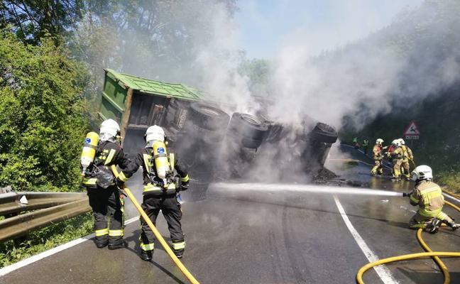 El conductor fallecido en el choque de Barazar es un vecino de Legutiano de 73 años