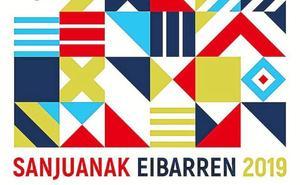 'Fiesta geométrica', cartel de las fiestas de San Juan