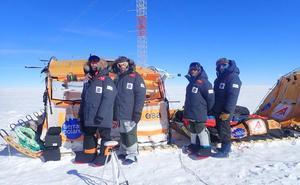 Sobre las ondas del viento antártico