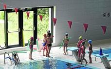 La piscina del polideportivo de Ermua cierra hasta nuevo aviso
