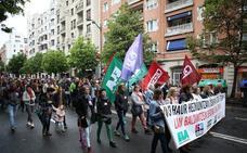Los trabajadores de los colegios concertados se manifestarán esta tarde en Bilbao