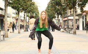 La vitoriana Marta Tudanca regresa a Ferrol tras su experiencia en Alemania