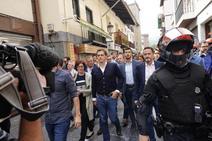 Gritos contra Rivera en Miraballes: «Fuera, fascista»
