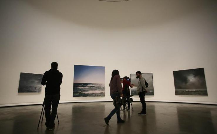 Las pinturas desenfocadas de Richter, en el Guggenheim