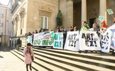 Bildu y Podemos se comprometen a parar las obras del TAV en Álava