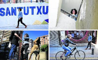 Por los recovecos de Santutxu con Ana Viñals