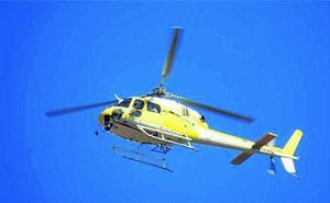 El helicóptero que causó alarma en la noche de Bilbao rodaba un vídeo para la Eurocopa 2020