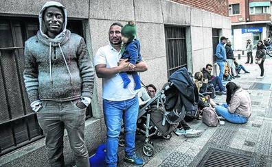 Se disparan las peticiones de asilo hasta casi 400 al mes en Bilbao
