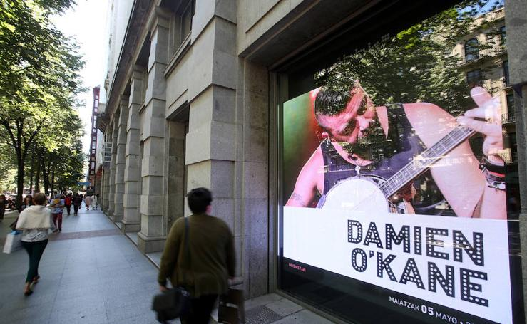 Bilbao se ilumina como Times Square