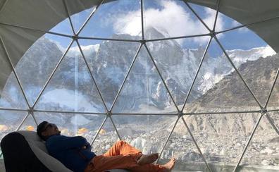 El 'lujo' de subir el Everest