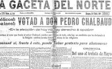 La batalla electoral de 1919