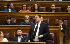 La Mesa suspende a los cuatro diputados presos con el voto en contra de Podemos