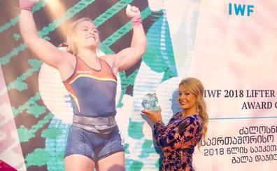 Lydia Valentín distinguida como la mejor halterófila de 2018