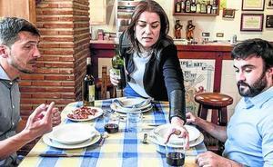 En el txoko con Leticia Comerón (PP)