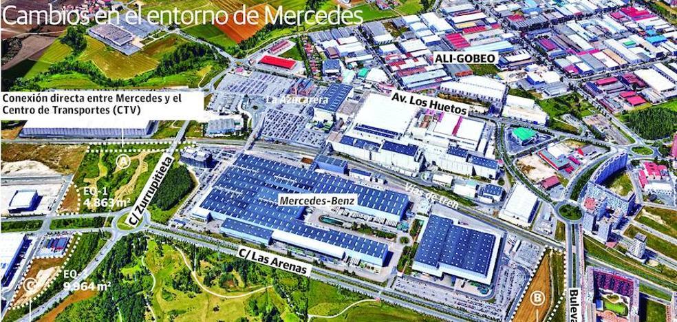 Medio Ambiente da el visto bueno a la ampliación de Mercedes en Vitoria