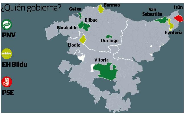 Los diez frentes de la batalla electoral vasca