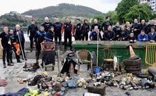 Limpieza del puerto de Lekeitio