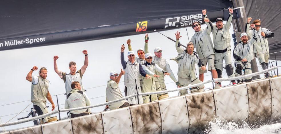 Platoon reina en la primera prueba de los F1 del mar