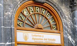 Azcarreta vende parte del primer premio de la Lotería Nacional