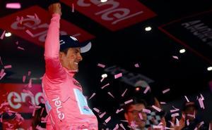 El ecuatoriano Carapaz reclama el Giro en el Mont Blanc