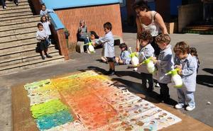 Reciclaje y arte van de la mano en Santurtzi