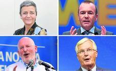 ¿Quiénes optan a sustituir a Juncker?