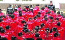 La Ertzaintza perderá a 3.000 agentes en seis años sin tener garantizado el relevo en la plantilla
