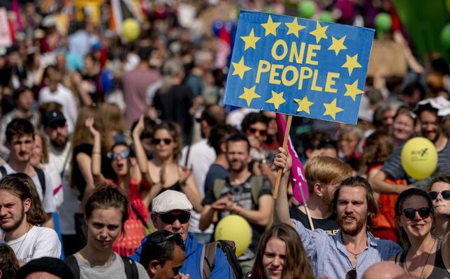Y las principales preocupaciones de los europeos: economía, inmigración, seguridad...