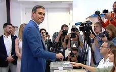 VÍDEO: Así han votado los líderes nacionales de los principales partidos