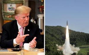 La Casa Blanca insiste en que las pruebas de misiles norcoreanos no molestan a Trump